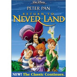 Return to Neverland (Widescreen) DVD