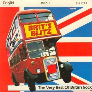 Britz Blitz - Rare 4 LP Set ~ The Best Of British Rock !
