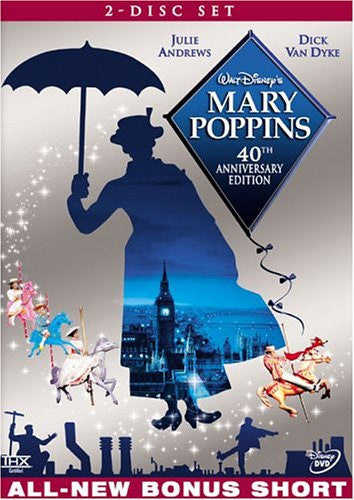 Mary Poppins (40th Anniversary Edition) 2 dvd set - Used / Mint