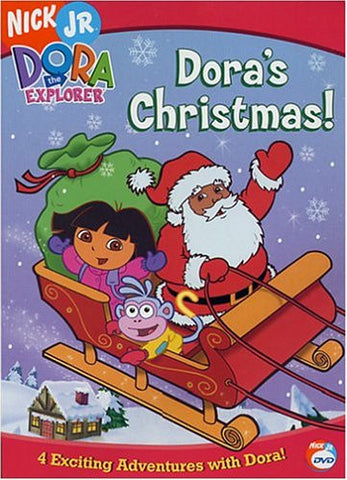 Dora the Explorer: Dora's Christmas DVD