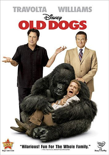 Old Dogs DVD  John Travolta and Robin Williams