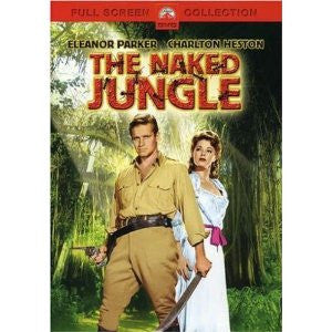 Naked Jungle (1954 DVD) Charlton Heston Mint Used