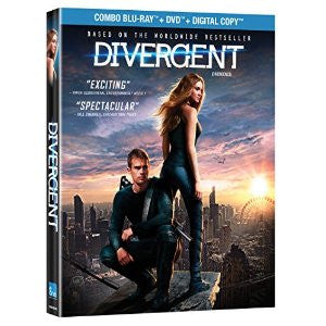 Divergent / Divergence [Blu-ray + DVD + Digital Copy] (Bilingual) New / Sealed