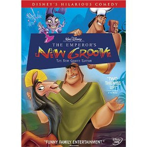 The Emperor's New Groove (Bilingual) Dvd - Used / Mint