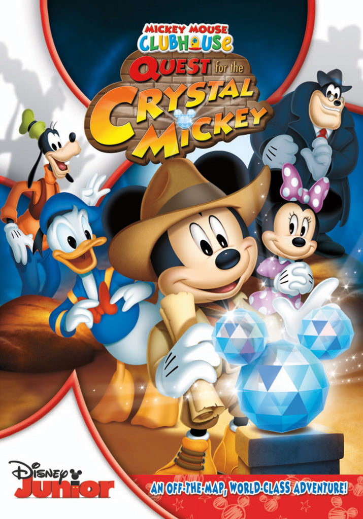 Mickey Mouse Clubhouse: Quest for the Crystal Mickey New Sealed DVD