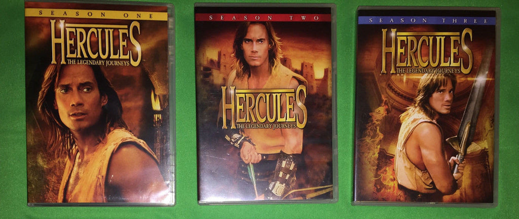 Hercules: Legendary Journeys Seasons 1, 2 and 3 dvd sets ( Mint Used )