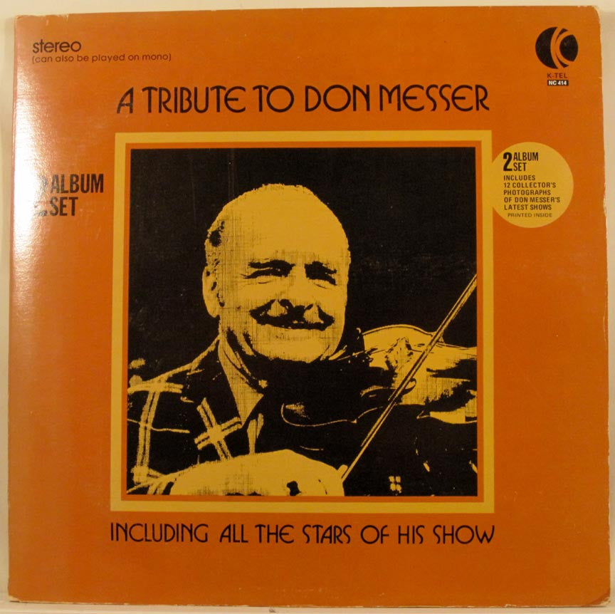 Don Messer -A Tribute To - 2 lps