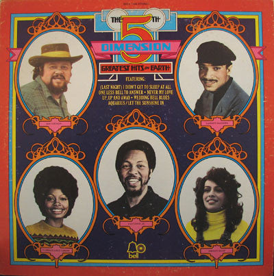 5th Dimension ,The ‎– Greatest Hits On Earth- 1972- Pop Rock, Easy Listening, Soul, Rhythm & Blues (Vinyl)