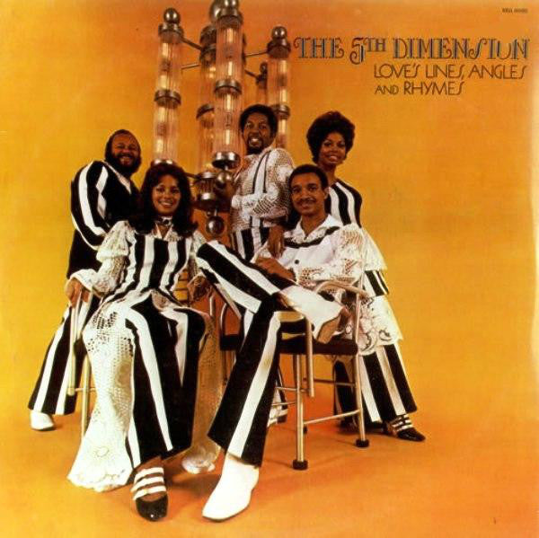 5th Dimension , The ‎– Love's Lines, Angles And Rhymes - 1971- Pop Rock, Easy Listening (vinyl)