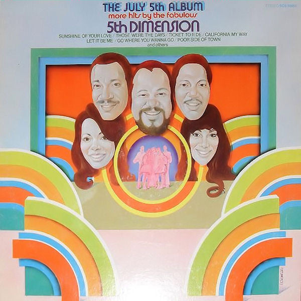 5th Dimension ‎– The July 5th Album - More Hits By The Fabulous 5th Dimension- 1970-Funk / Soul, Pop (vinyl)