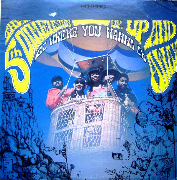 5th Dimension,The  ‎– Up, Up And Away - 1967- Funk / Soul (vinyl)