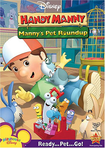 Handy Manny: Manny's Pet Roundup DVD - Used / Mint