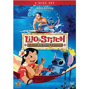 Lilo and Stitch: Big Wave Edition (Bilingual) Dvd Mint / Used  (only the Feature Disc available)