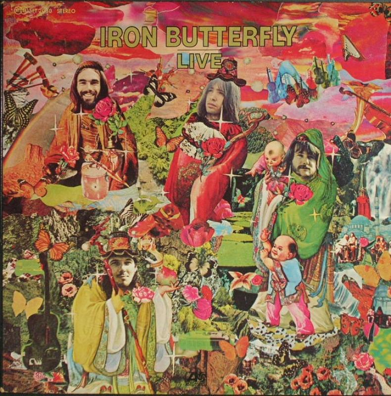 Iron Butterfly - Live ( Clearance Vinyl ) NO COVER - VINYL ONLY