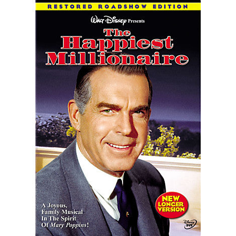 Happiest Millionaire ,The -DVD - Mint / Used