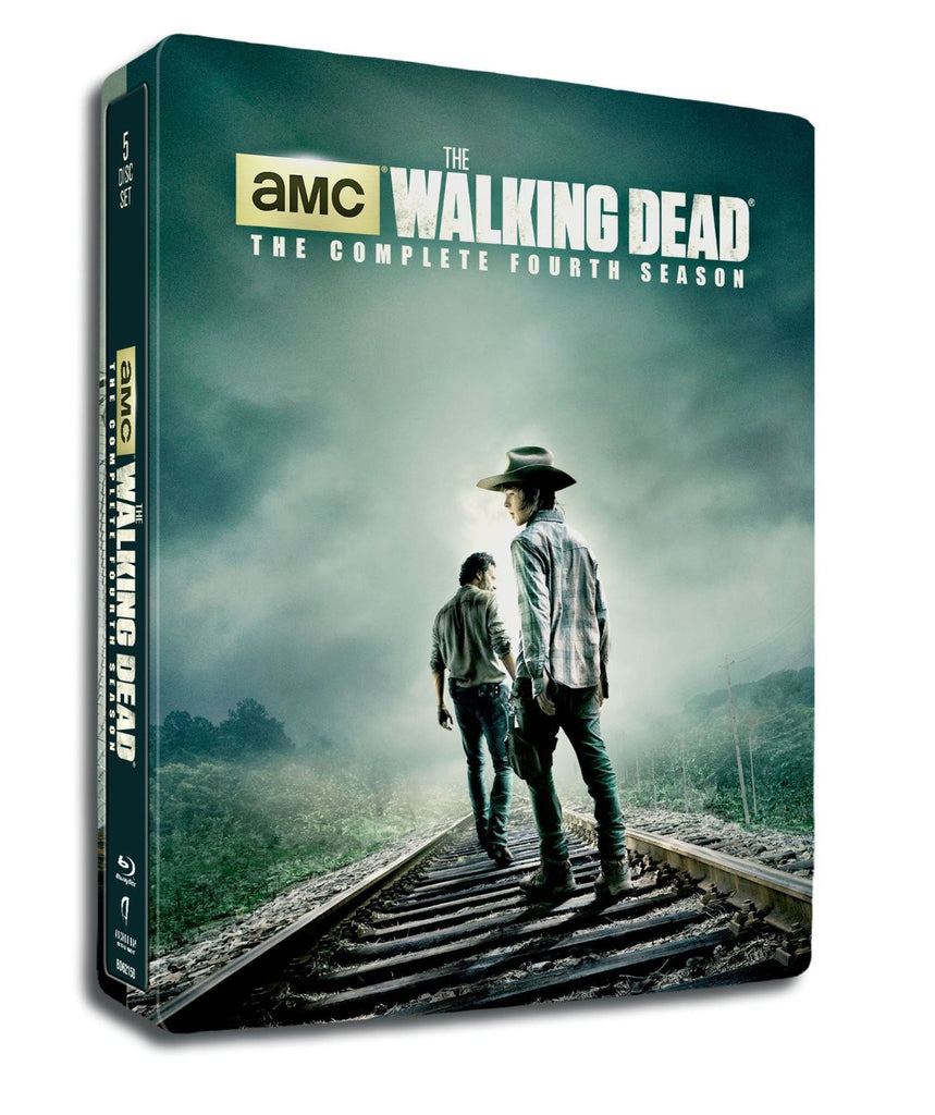 Walking Dead,The : Season 4 - Limited Edition SteelBook [Blu-ray] (Bilingual) New/ Sealed