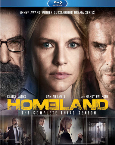 Homeland: The Complete Third Season [Blu-ray] Mint / Used