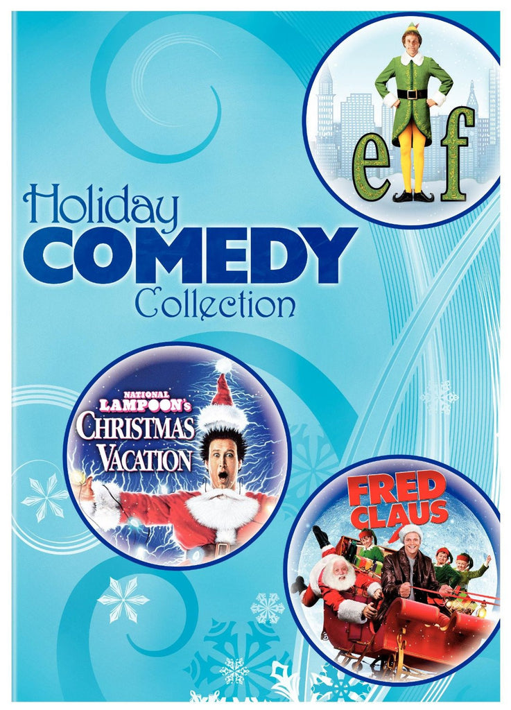 Holiday Comedy Collection / Christmas vacation , Elf , Fred Claus New DVD Set