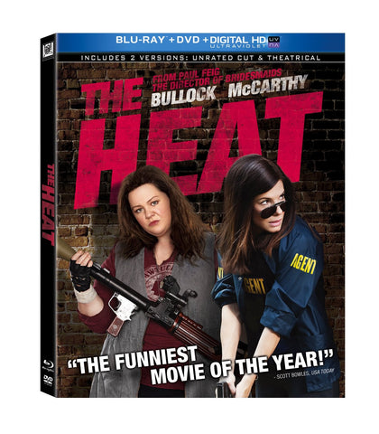Heat , The (2013)  (Bilingual) Blu-ray + DVD Used / Mint