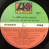 ABBA ‎– The ABBA Instore Sampler -1978 - Very Rare (Vinyl)