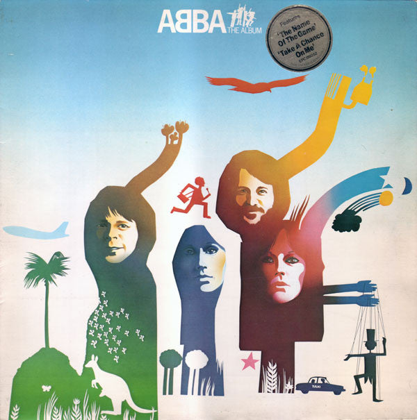 ABBA ‎– The Album -1977 Europop - UK Import (Vinyl)