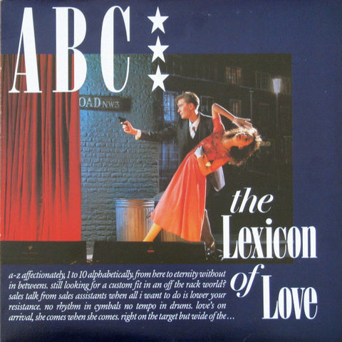 ABC ‎– The Lexicon Of Love - 1982 - New wave ( Clearance Vinyl )- Overstocked *