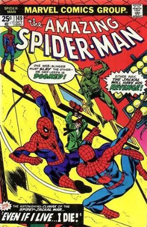 AMAZING SPIDER-MAN #149 - Death of the Spider-man clone