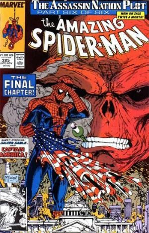 AMAZING SPIDER-MAN 325