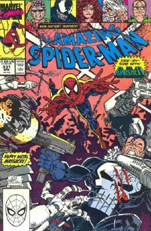 AMAZING SPIDER-MAN #331 Punisher