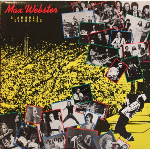 Max Webster - Diamonds Diamonds 1981 Rock (Vinyl)