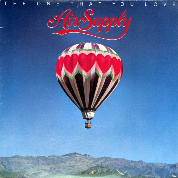 Air Supply ‎– The One That You Love -1981 - Soft Rock (clearance Vinyl) Overstocked