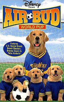 Air Bud World Pup (Air Bud 3) DVD - Used / Mint