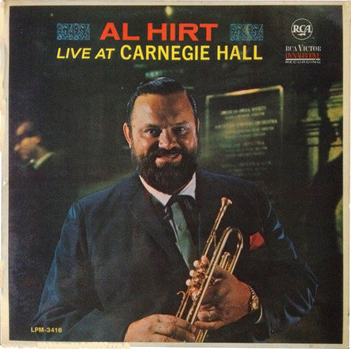 Al Hirt ‎– Live At Carnegie Hall - 1965- Dixieland Jazz(vinyl)