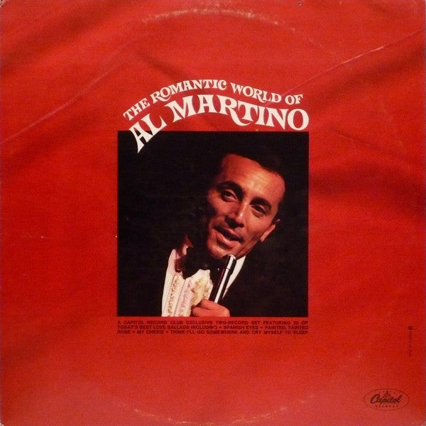 Al Martino ‎– The Romantic World Of Al Martino - 2 lps - 1969- Jazz ,Pop Vocal (vinyl)