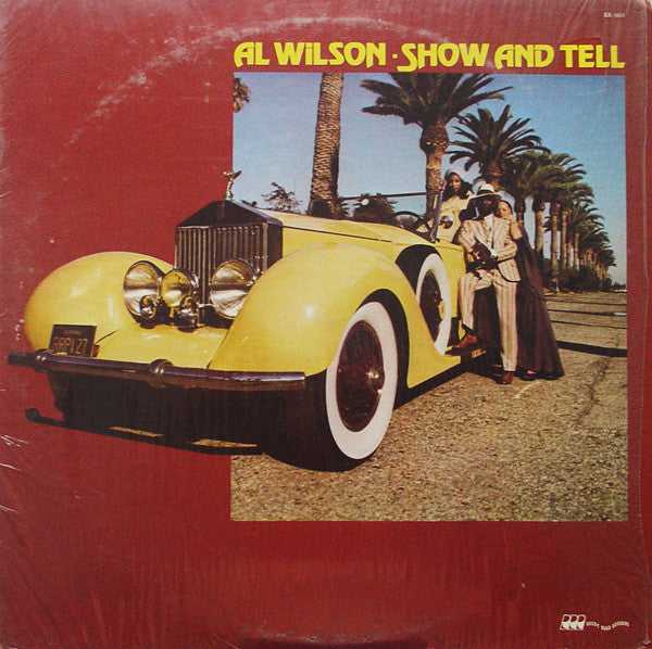 Al Wilson ‎– Show And Tell -1973 Funk / Soul (vinyl)