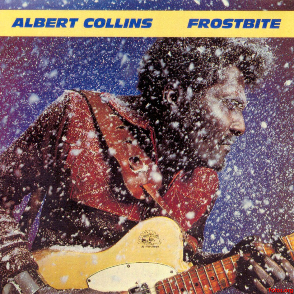 Albert Collins ‎– Frostbite -1980 -  Modern Electric Blues, Texas Blues (vinyl)