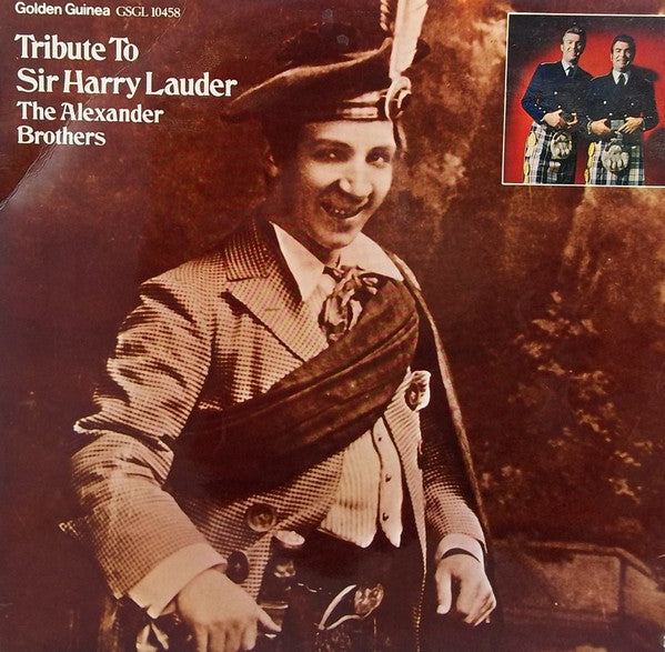Alexander Brothers ‎– Tribute To Sir Harry Lauder - 1970- Folk, World, & Country ( rare vinyl)