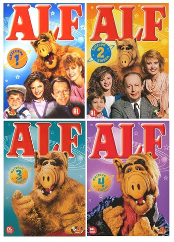 Alf: Seasons 2 + 3 + 4 DVD Seasons ( mint Used )