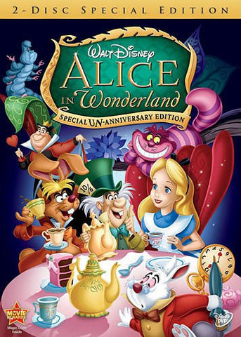 Alice in Wonderland (Two-Disc Special Un-Anniversary Edition) (Bilingual) Mint Used DVD