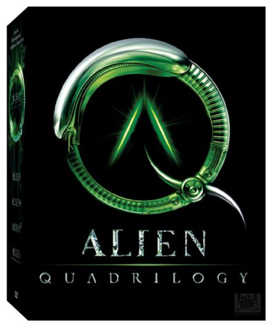 NEW Alien Quadrilogy (DVD) 2 versions/ 9 disc set (50 hours of Bonus materials) (Sealed )