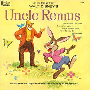 "All The Songs From Walt Disney's Uncle Remus - Music From The Original Sound Track Of` ""Song Of The South"" 1959 Rare Vinyl"