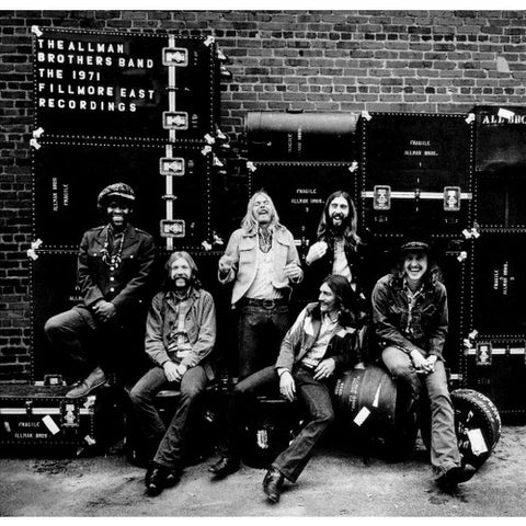Allman Brothers Band ‎– The Allman Brothers Band At Fillmore -1971 - Blues Rock (2 lps) Canadian release