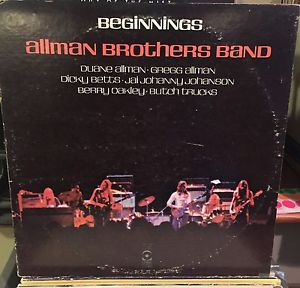 Allman Brothers Band , The ‎– Beginnings - 2 lps - 1973- Blues Rock (vinyl) cover wear only