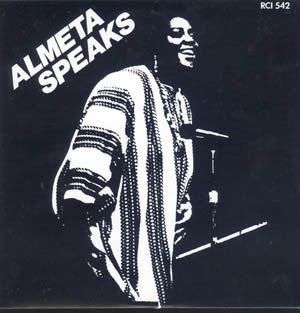 Almeta Speaks ‎– Almeta Speaks -1982 -  Jazz, Blues (vinyl)