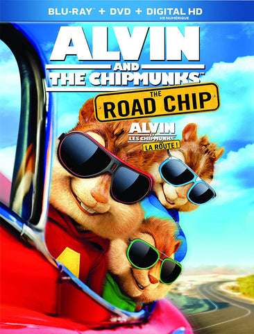 Alvin & The Chipmunks: The Road Chip [Blu-ray + Digital Copy] (Bilingual)new