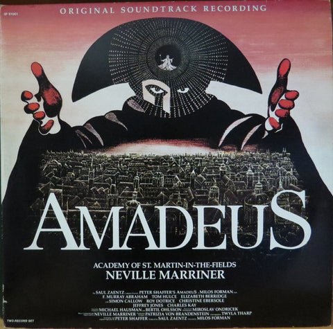 Neville Marriner* Presents Wolfgang Amadeus Mozart ‎– Amadeus (Original Soundtrack Recording) -2 lps -1984-Classical - (Vinyl)