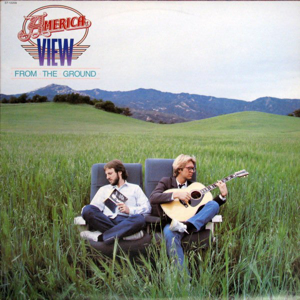 America – View From The Ground -1982  Soft Rock, Pop Rock (vinyl)