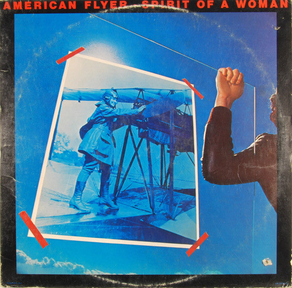 American Flyer ‎– Spirit Of A Woman -1977-Country Rock (Clearance Vinyl )definite marks