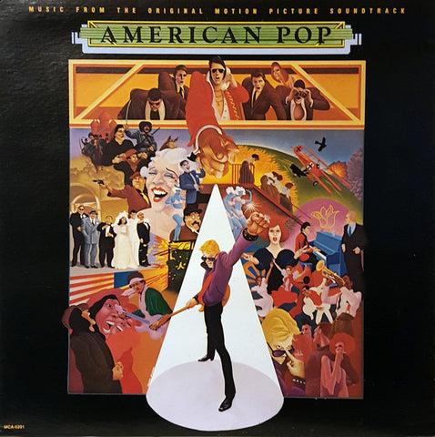 Music From The Original Motion Picture Soundtrack American Pop - 1981-Soundtrack, Pop Rock, Synth-pop (vinyl)