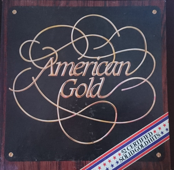 American Gold (52 Certified Solid Gold Hits) 1983 - Folk, World, & Country ( Clearance Vinyl) Only 4 of 5 lps